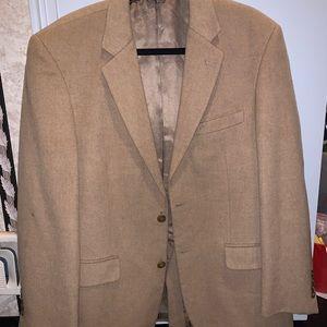 NWT Camel hair coat  42R